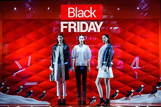 Oedim Vinilo Black Friday Escaparates Black Friday Rojo y ...