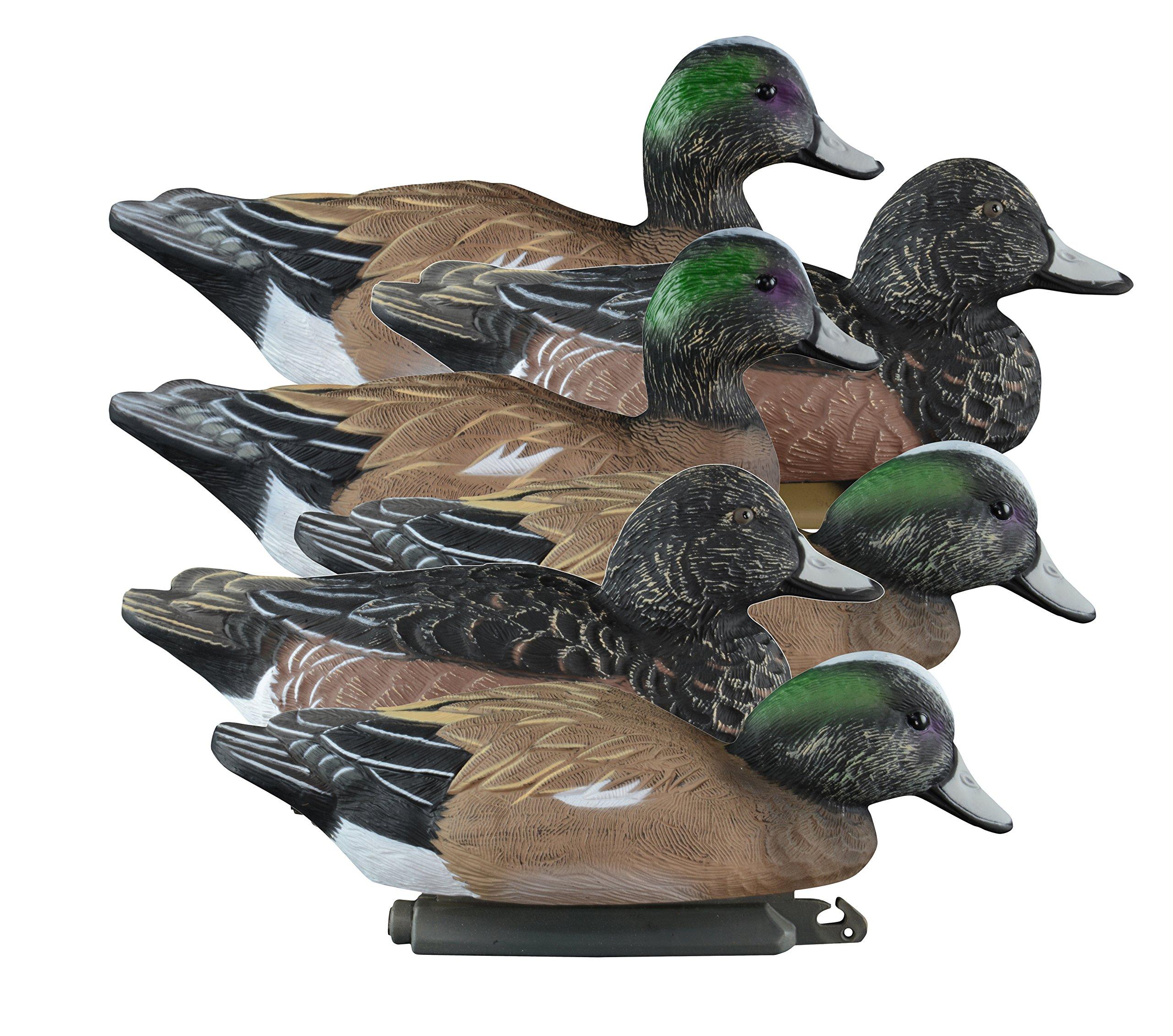 Higdon Outdoors Standard Widgeon Duck Decoys, Foam Filled