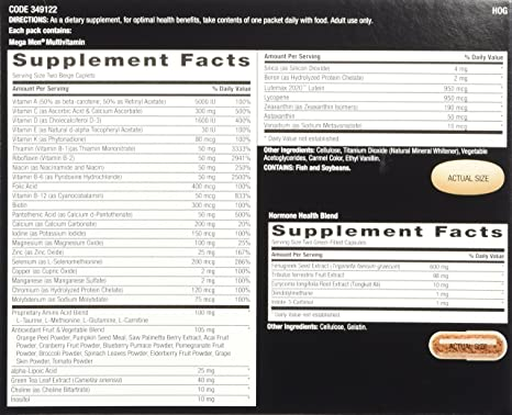 Amazon.com: GNC Mega Men Healthy Testosterone Booster, 30 Count: Health & Personal Care