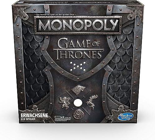 Hasbro Monopoly Game of Thrones Simulación económica Adultos - Juego de Tablero (Simulación económica, Adultos, Alcalino, 1,5 V, AA, 1 Pieza(s)): Amazon.es: Juguetes y juegos