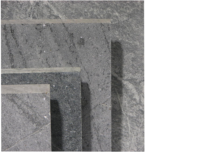 Speckstein/Specksteinplatte 59,8x29,8x3,0 cm: Amazon.de: Baumarkt