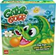 Gator Golf - Putt The Ball into The Gator's Mouth to Score Game - with Bonus 24pc Puzzle by Goliath