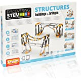 Engino Discovering STEM 结构结构和桥梁 9 工作模型 - 图解说明手册 - 理论与事实 - 实验活动 - STEM 构造套件