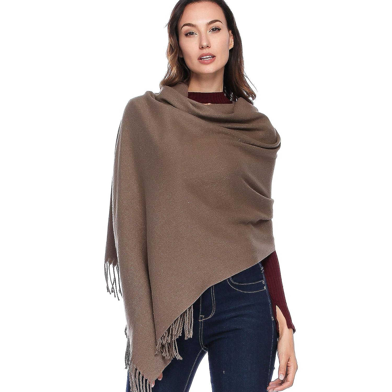 HOYAYO Cashmere Wool Shawl Wraps - Extra Large Thick Soft Pashmina Scarf