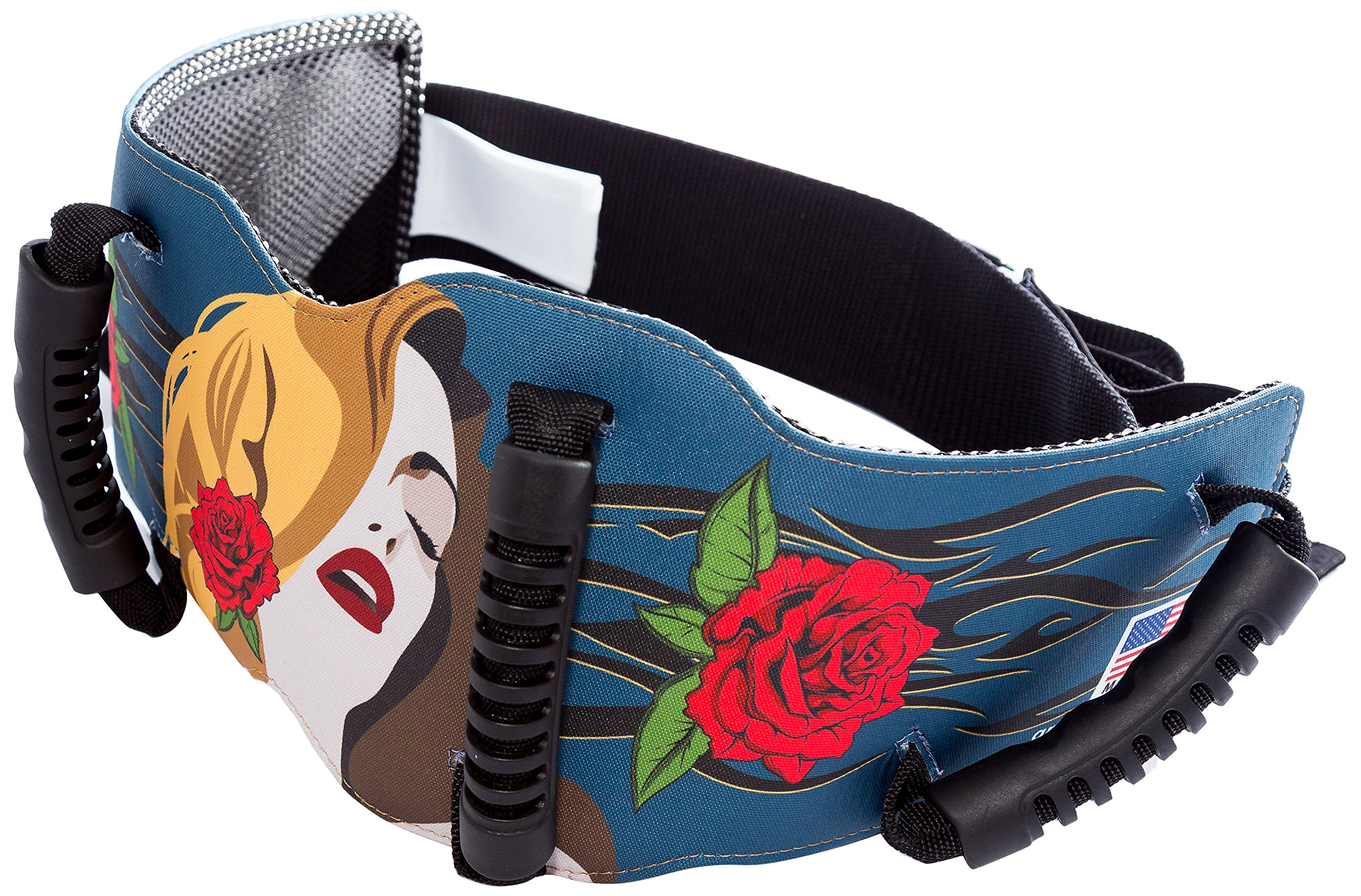 Grip-n-Ride Street Art Collection Blue Muse Belt (One Size)