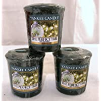 YANKEE CANDLE 1556283E The Perfect Tree Samplers Votive Candle Green