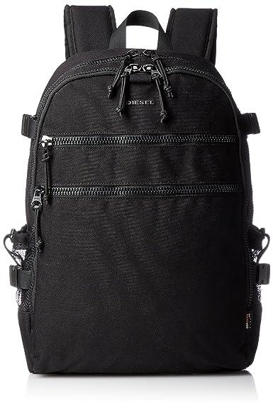 c843c2ba6cf69c Amazon | (ディーゼル) DIESEL メンズ バッグ リュック バックパック X05119P1516 UNI ブラック T8013 |  DIESEL(ディーゼル)