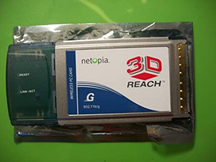 NETOPIA 3D REACH WIRELESS USB CARD DRIVER