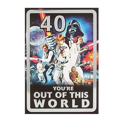 Hallmark Star Wars 40th Tarjeta de cumpleaños