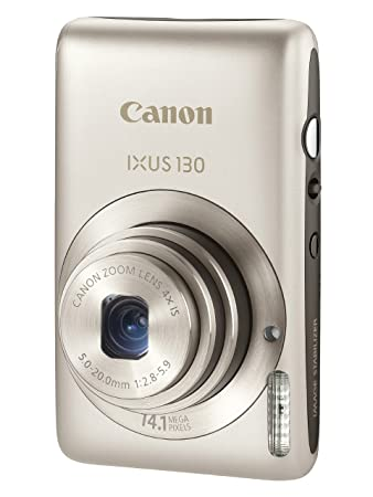 canon ixus 130 digital camera silver 2 7 inch amazon co uk rh amazon co uk Canon Cameras Canon IXUS 240 HS