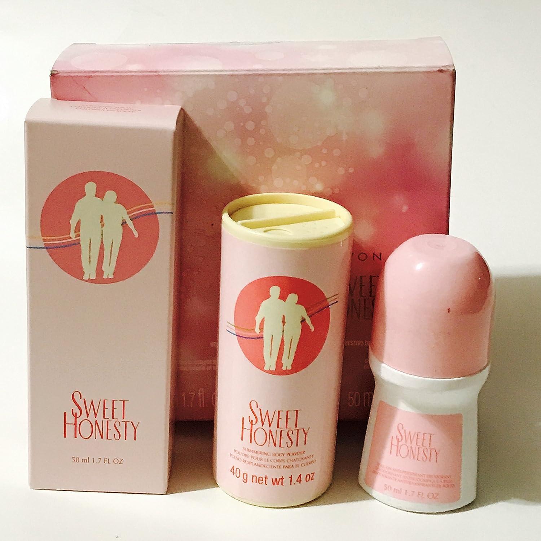 Avon SWEET HONESTY 3 pcs gift set in box