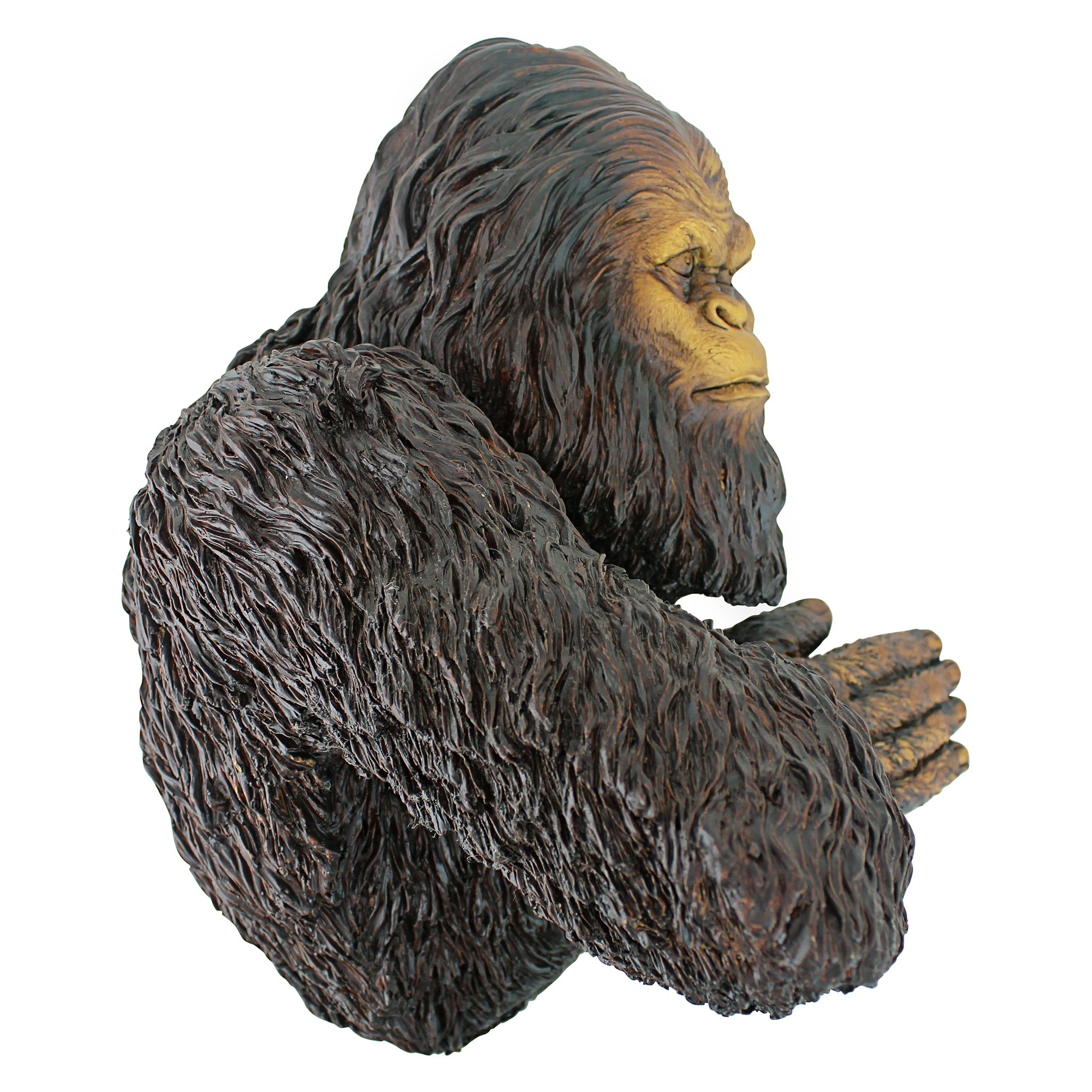 Design Toscano Bigfoot the Bashful Yeti Garden Tree Sculpture, 15 Inch, Polyresin, Full Color by Design Toscano (Image #2)
