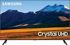 SAMSUNG 86-Inch Class Crystal UHD TU9000 Series - 4K UHD HDR Smart TV with Alexa Built-in (UN86TU9000FXZA, 2020 Model)