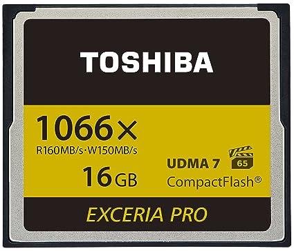 Toshiba EXCERIA Pro C501 16GB Memoria Flash CompactFlash ...