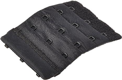 Dritz Bulk Buy Bra Back Extender 1 1//4 inch Wide Black 2 Hooks 56620 6-Pack