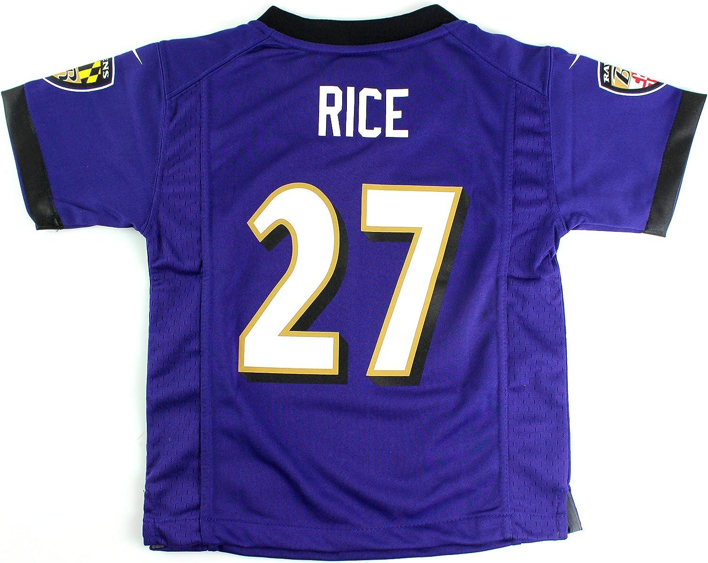 Ray Rice Baltimore Ravens #27 Kids 4-7 Game Jersey Purple (Kids ...