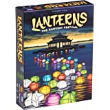 Lanterns: The Harvest Festival, Fast Paced Card Game Set, 2-4 Players, 30 Min Playing Time, Place Tiles to Adorn the Palace L