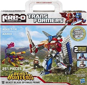 KRE-O Transformers Beast Beast Blade Optimus Prime [A2203]: Amazon.es: Juguetes y juegos