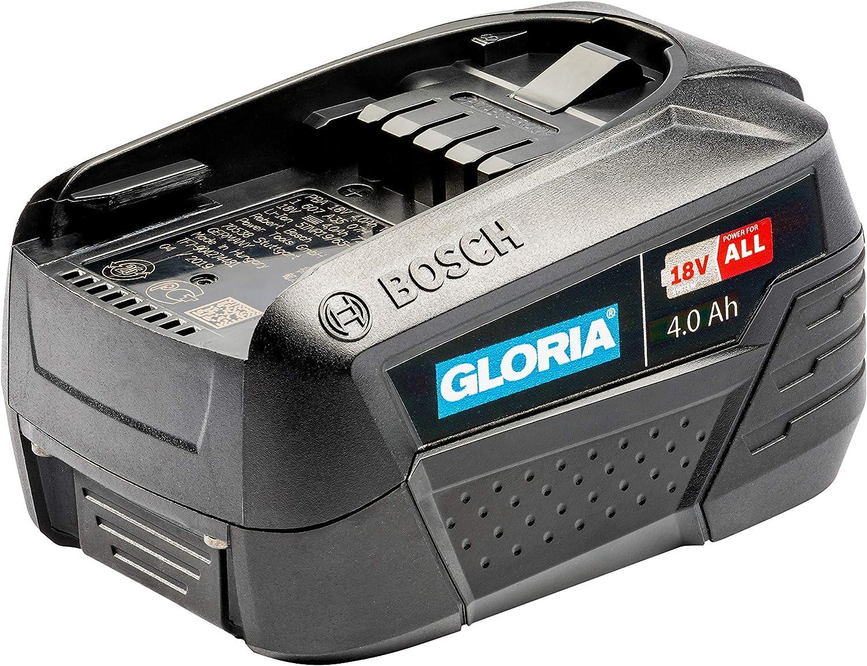 pour MultiJet 18 V, WeedBrush Li-on, MultiBrush Li-on Home and Garden Line gloria Batterie Bosch 18 V 4.0 Ah Power for All