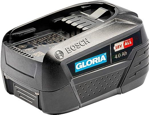 GLORIA 4.0 Ah Bosch batería Accesorio, Negro: Amazon.es: Jardín