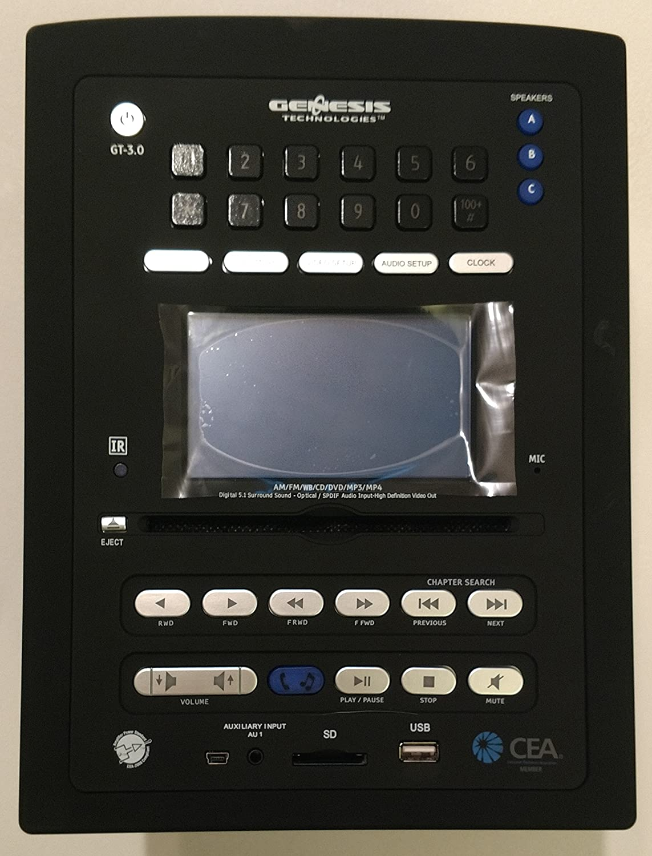 Genesis Gt 30 Cd Dvd Usb Mp3 Bluetooth Am Fm Radio Stereo Rv Camper Concertone Wiring Diagram Trailer Electronics Amazon Canada