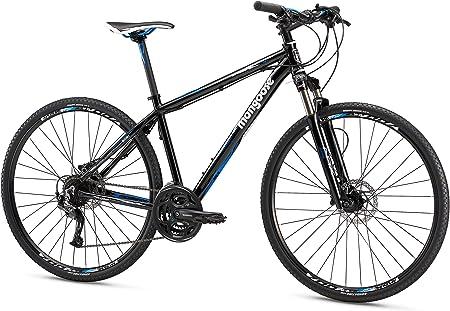 side facing mongoose reform comp 700C wheel hybrid bicycle