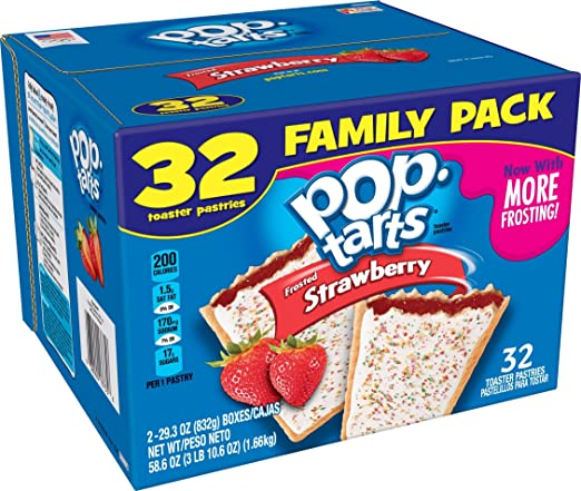 Pop-Tarts Frosted Strawberry F...