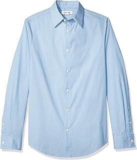 9bc10b4d Calvin Klein Men's Cotton Cashmere Button Down Shirt at Amazon Men's ...
