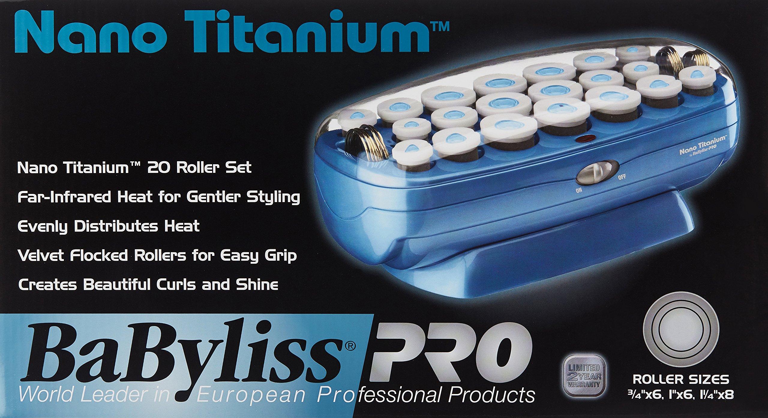 BaBylissPRO Nano Titanium 20-Roller Hairsetter by BaBylissPRO (Image #3)