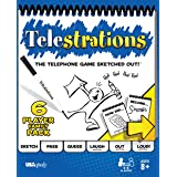 USAOPOLY Telestrations Original 6 Player | Family Board Game | A Fun Family Game for Kids and Adults | Family Game Night Just