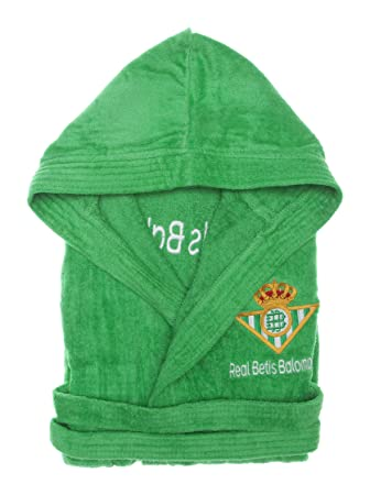 Real Betis Balompié Albornoz Escudo Diamond Terciopelo Verde 6-8 años: Amazon.es: Hogar