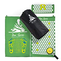 Best Acupressure Mat & Pillow Set - Sale - Effective Remedy for Pain and Stress...