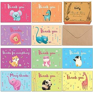 amazon com safari baby shower thank you cards 60 kids birthday
