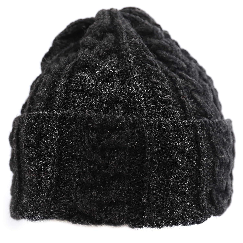 Biddy Murphy Aran Wool Hat Made in Ireland