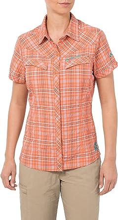 VAUDE Bluse Womens Sarentino Shirt - Camisa/Camiseta para Mujer