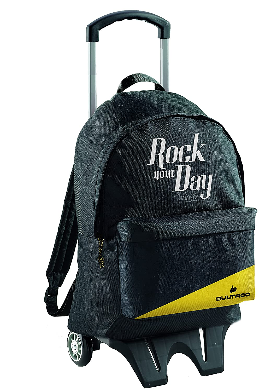 Miquelrius 18016 - Mochila Grande Doble con Carro Rock Your Day: Amazon.es: Equipaje