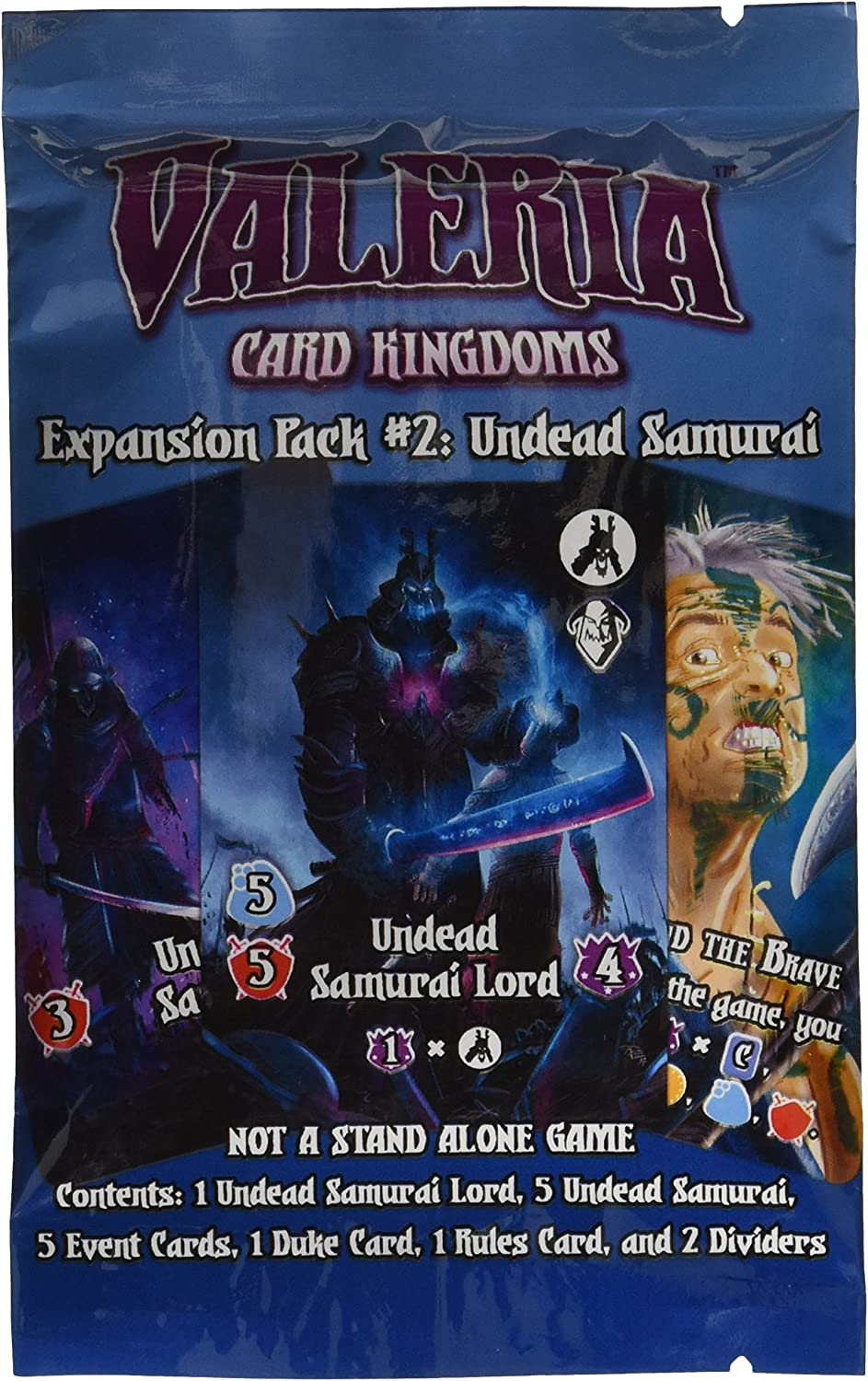 Daily Magic Valeria: Card Kingdoms - Expansion Pack #2: Undead Samurai by: Amazon.es: Juguetes y juegos