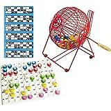 Bingo House Loterie à bingo avec boules et plateau