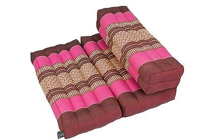 Cuscino Da Meditazione.Cuscino Da Meditazione Pieghevole 50x50 Cm Rosa Amazon It