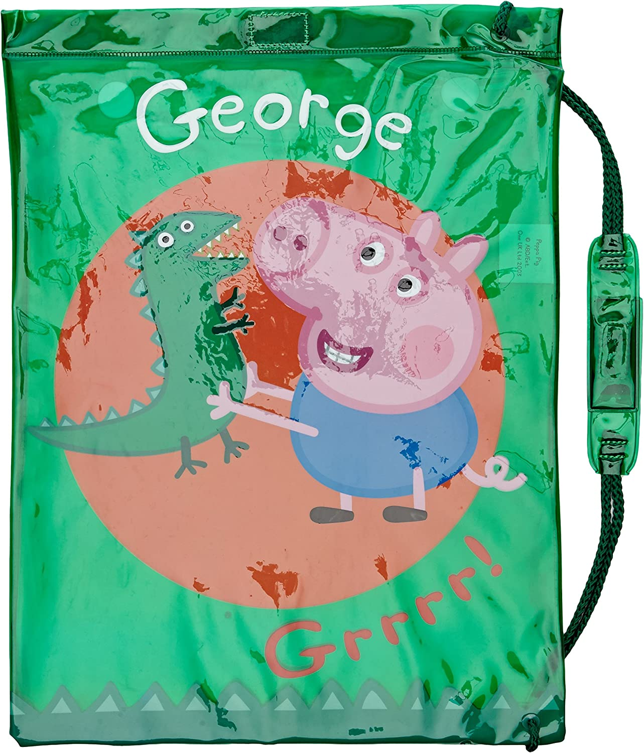 Peppa Pig- George - Disfraz Dinosaurios (Trademark Collections ...