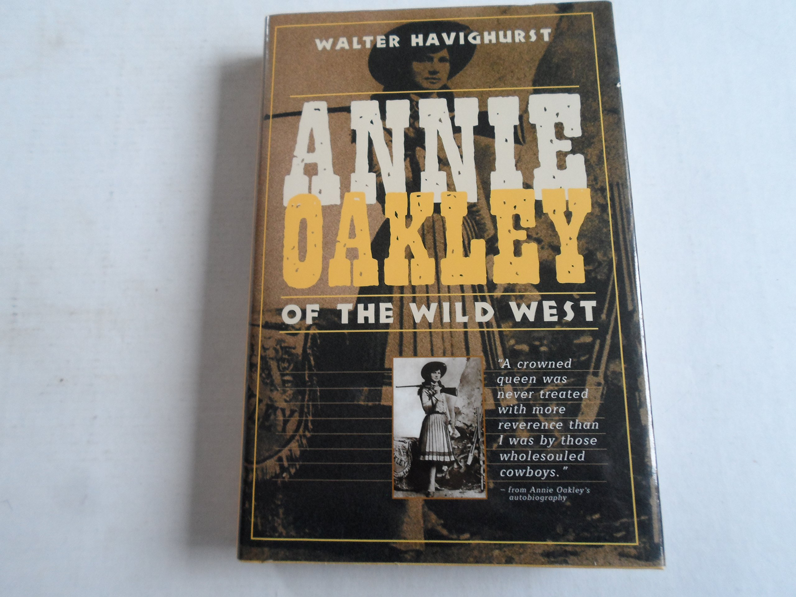 Annie Oakley of the Wild West