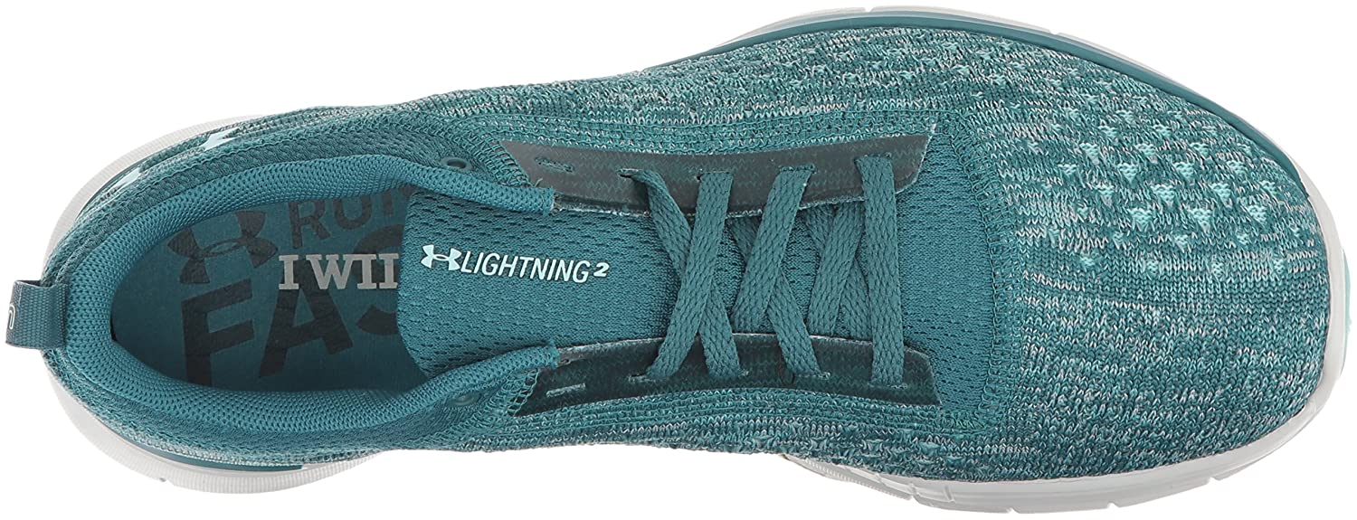 Under Armour B0716QL4LY Women's Lightning 2 Running Shoe B0716QL4LY Armour 8 M US|Blue d7ff45