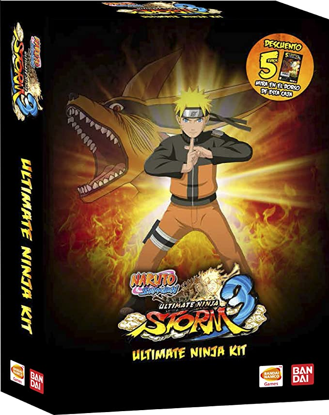 Naruto Storm 3 - Ultimate Ninja Kit: Amazon.es: Videojuegos