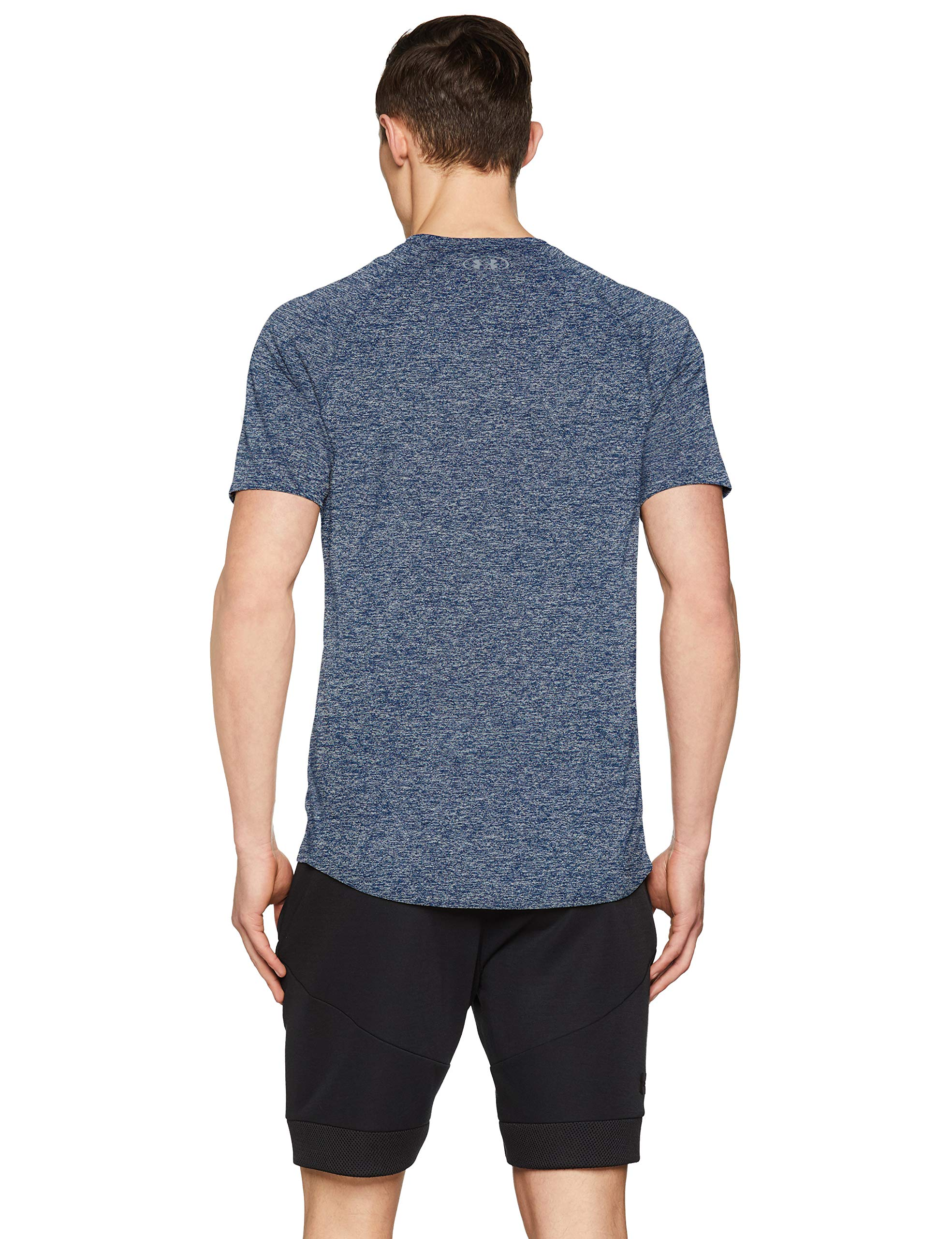 Under Armour Men's Tech 2.0 Short Sleeve T-Shirt, Academy (409)/Steel, 3X-Large by Under Armour (Image #2)
