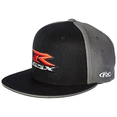 Factory Effex 15-88448 Suzuki 'GSXR' Flex-Fit Hat (Black, Large/X-Large): Automotive