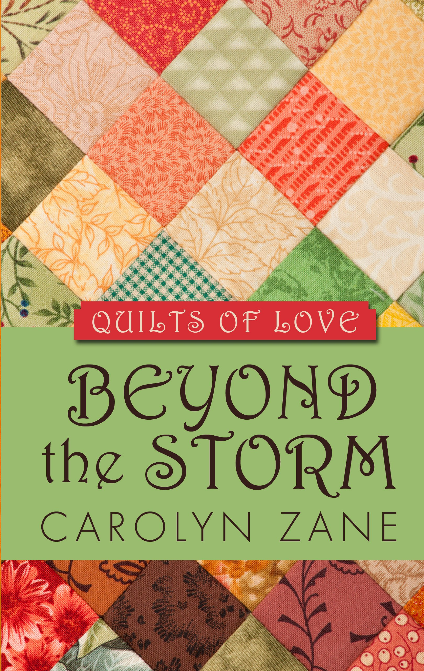 Download Beyond the Storm (Quilts of Love: Thorndike Press Large Print Clean Reads) ebook