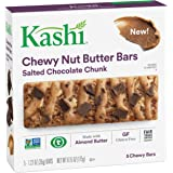 Kashi Salted Chocolate Chunk Chewy Granola Nut Butter Bars, 6.2 Ounce