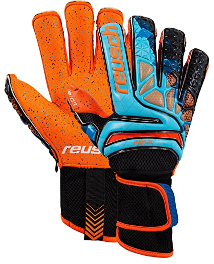 Reusch Soccer Reusch Prisma Pro G3 Fusion Evolution Ortho-Tec LTD  Goalkeeper Glove Orange  9980fcd313