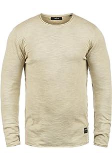 7a2b488a10f8 Solid Krimmich Herren Strickpullover Feinstrick Pullover Mit Rundhals Aus  100% Baumwolle !