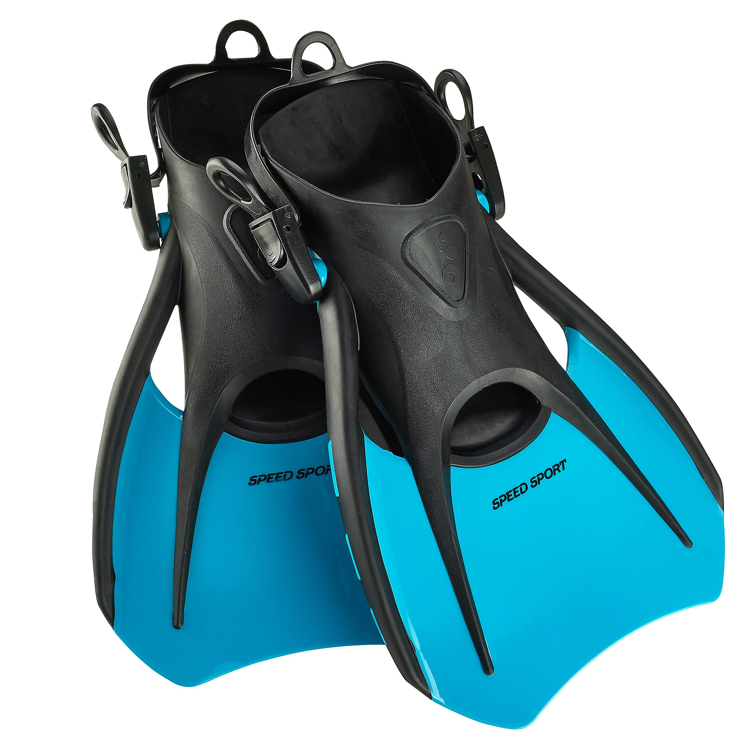 Phantom Aquatics Snorkeling Diving Fins - Open Heel Traveling Sport Fins - AQ-SM